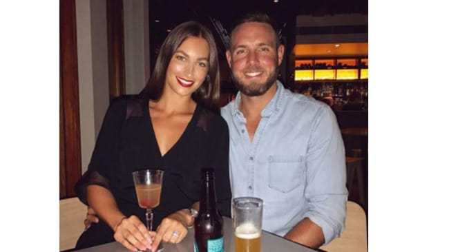Image: Instagram. Jenna-Lea and Luke Williams, together 11 years, married one