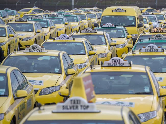 The taxi industry is undergoing changes in order to survive, including to its prices. Picture: Jason Edwards
