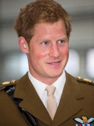 Prince Harry visits The Royal Marines Tamar on August 2, 2013. Picture: Getty