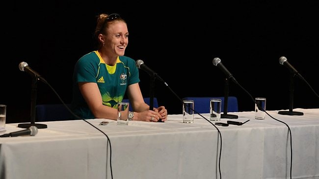 Sally Pearson is supremely confident of winning the gold medal in the 100m hurdles. Picture: Michael Dodge