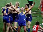 The ecstasy of winning a grand final, in 2006.