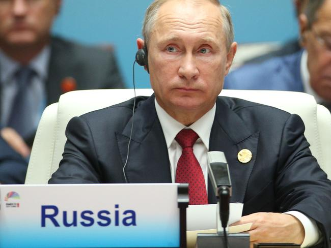 'Nobody's bride': Russian President Vladimir Putin said he won't be ticking yes in the postal vote. Picture: AFP PHOTO / POOL / WU HONG