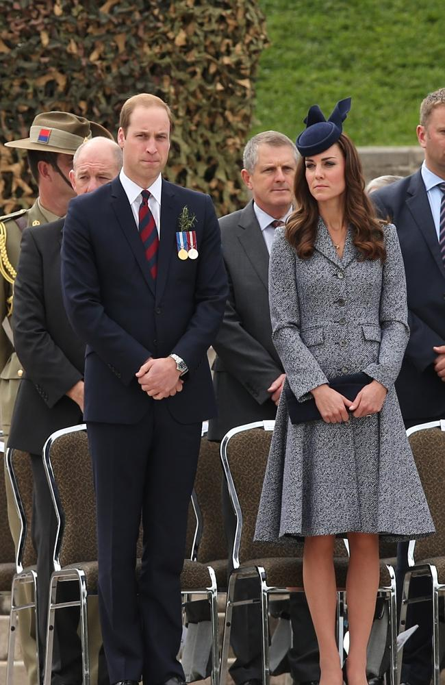 VIP guests ... Catherine, Duchess of Cambridge and Prince William, Duke of Cambridge, att