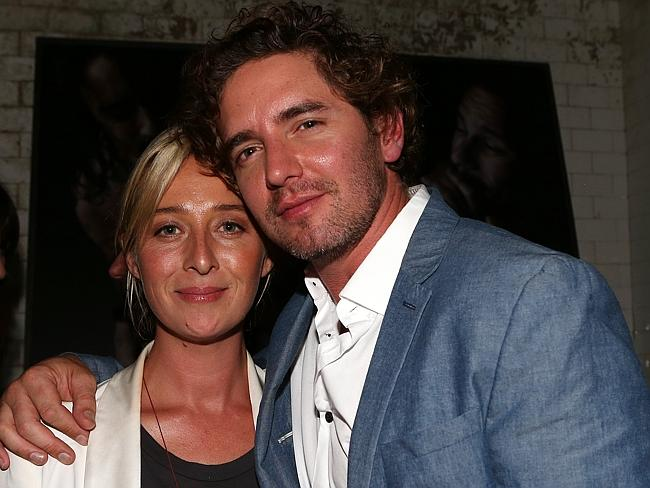 Asher Keddie and Vincent Fantauzzo have been dating for two years.