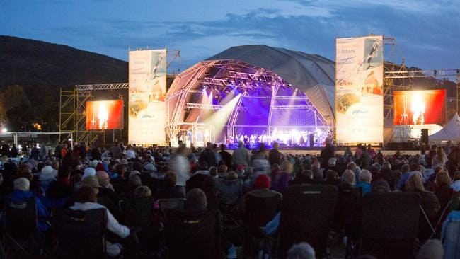 anzac centenary albany community concert pays tributes to
