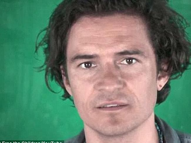 Telling stories ... Orlando Bloom has combined with a bunch of celebrities to tell Malala Yousafzai's story.