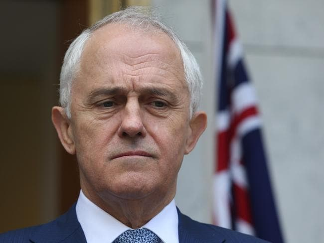 """Prime Minister Malcolm Turnbull says he is a """"compassionate man"""". Picture: Gary Ramage"""
