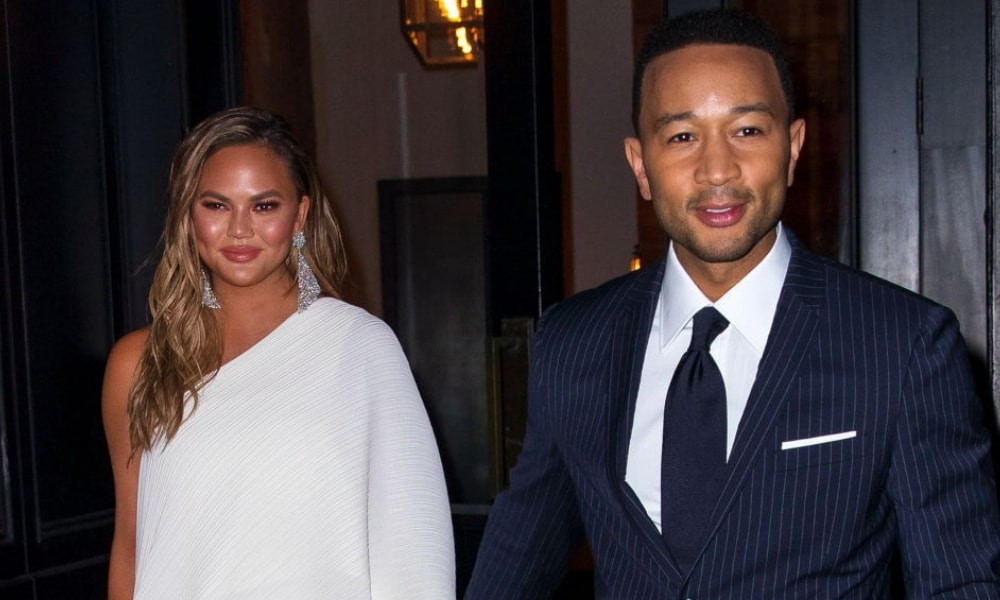 John Legend crying as he presents an award to his wife is everything
