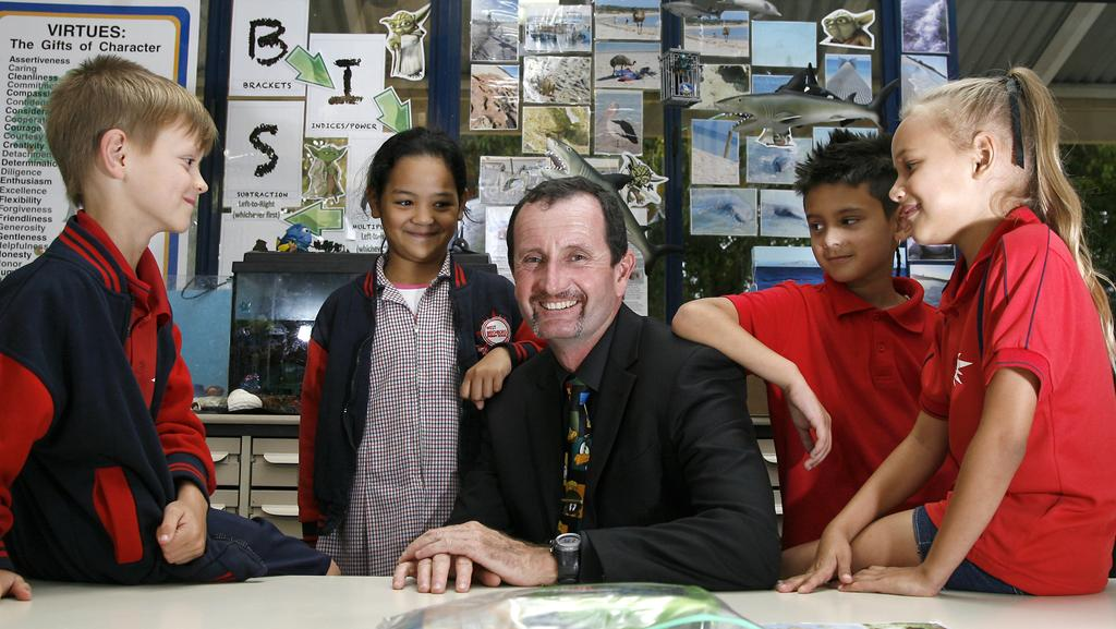 West Beechboro Primary School principal Ray Boyd has won the WA Primary School Leader of the Year at the 2014 WA Education Awards. Picture: Marie Nirme