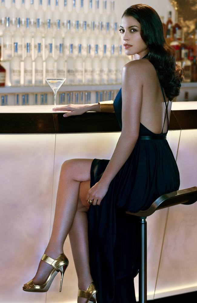 Stephanie Sigman sizzles in the latest James Bond campaign with Belvedere Vodka.
