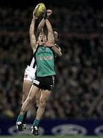 <p><span>Port Adelaide 2002</span><br /> <span>Where do you start with Port Adelaide. They got off to a shocker when some marketing spiv decided that what their black and white jumper needed was a liberal dose of teal. But perhaps the low point came in 2002 when they cracked the sads about clashing with Collingwood's jumper and wore what was essentially their training jumper.</span></p>