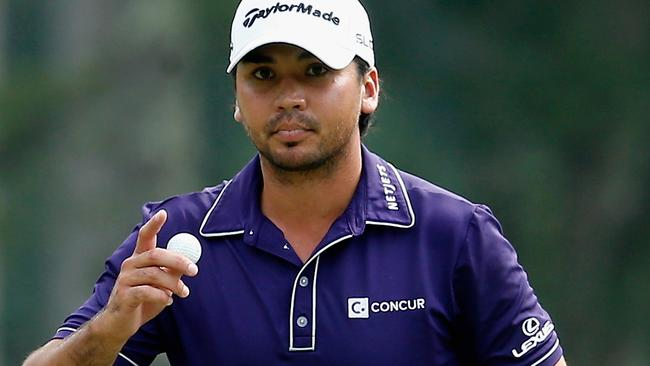 Jason Day during the third round of the Deutsche Bank Championship.
