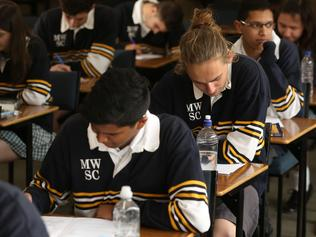 pics of students after English VCE exam