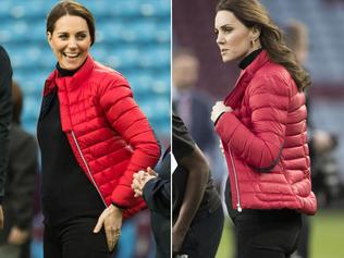 Catherine Duchess of Cambridge visit to Aston Villa Football Club to see the work of the Coach Core programme in Birmingham, UK. 9236800 Pictured: Catherine Duchess of Cambridge Ref: SPL1628381 221117 Picture by: Splash News Splash News and Pictures Los Angeles: 310-821-2666 New York: 212-619-2666 London: 870-934-2666 photodesk@splashnews.com