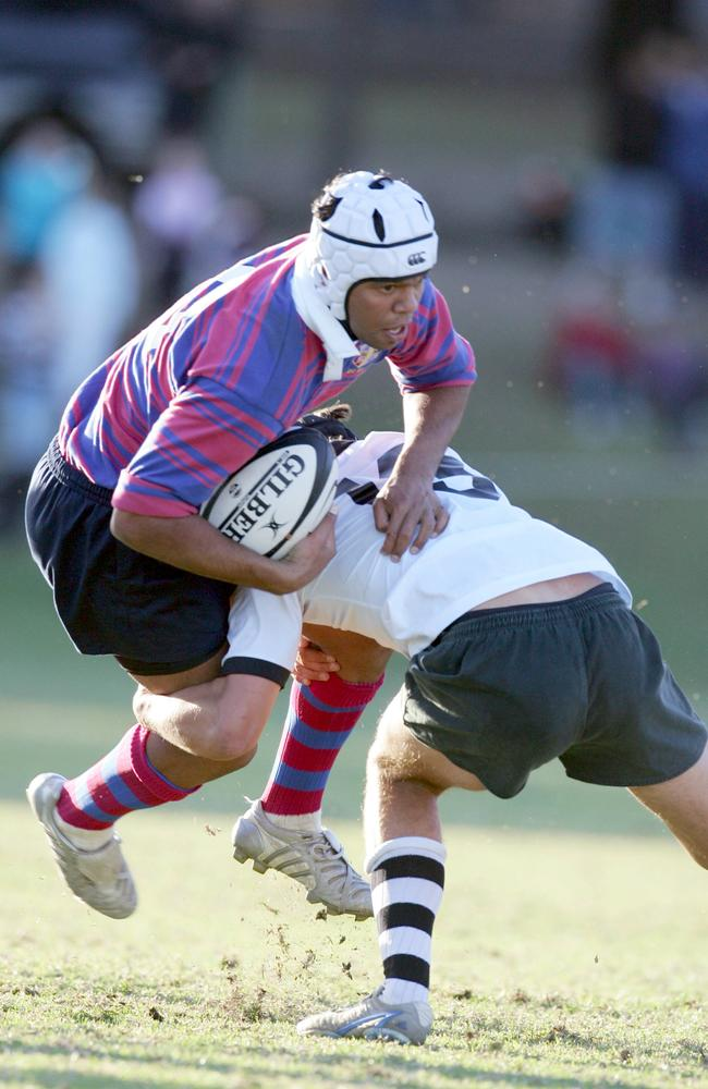 Kurtley Beale signed for the Waratahs while still at school with St Josephs College.