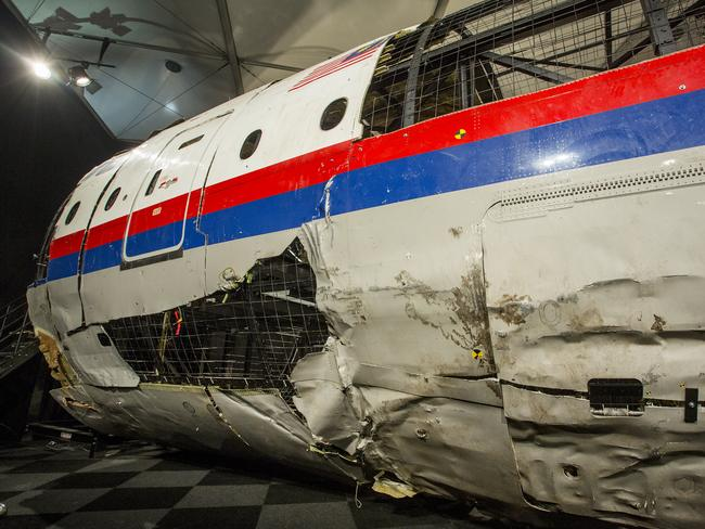 Blown away ... a Russian Buk missile hit MH17. Picture: Ella Pellegrini