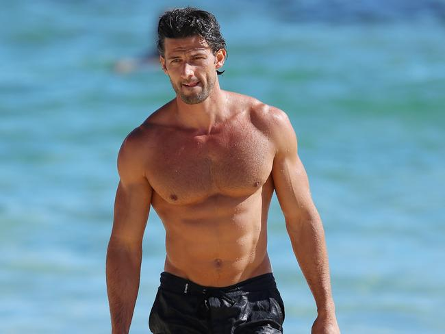 Tim Robards would have some cheeky moves saved up from his Bachelor days.