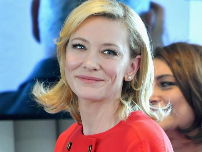 Actress Cate Blanchett also missed out. Picture: Getty