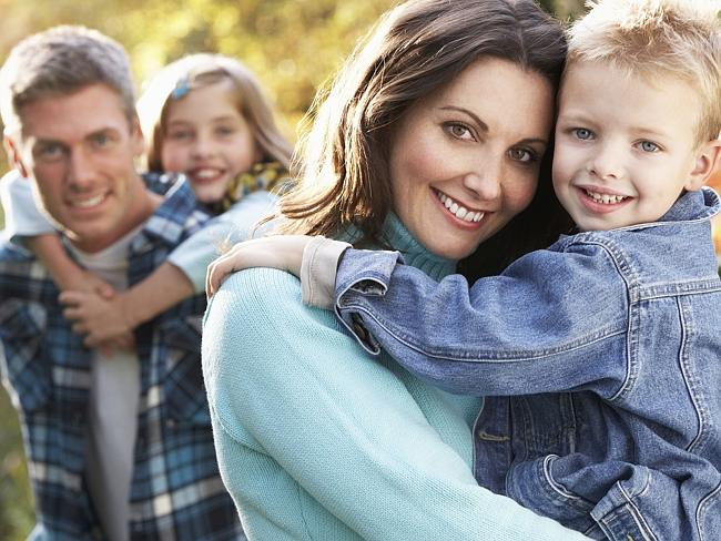 Large family? I don't think so. It takes four children to be eligible for large family su