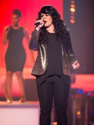 The Voice?s Miss Murphy from Team Ricky. Picture: Channel 9