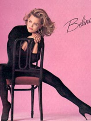 The real Belinda Carlisle album cover Craig Campbell used as inspiration. Picture: Supplied
