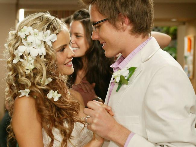 Isabel Lucas got some interesting plot lines while on the soap. Picture: News Limited