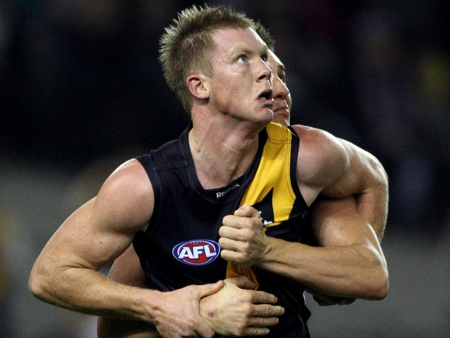 Poor Jack Riewoldt. Always getting a hard time ...