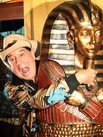Molly Meldrum at home.