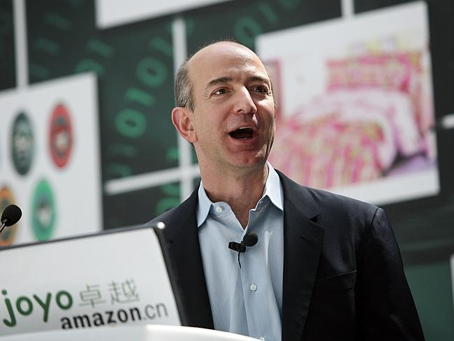 Jeff Bezos also made headlines last year when he bought the Washington Post.