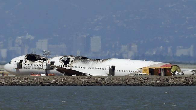 Asiana CEO Yoon Young-Doo described media reports that pilot error may have caused the tragedy as ?intolerable??. Picture: AP