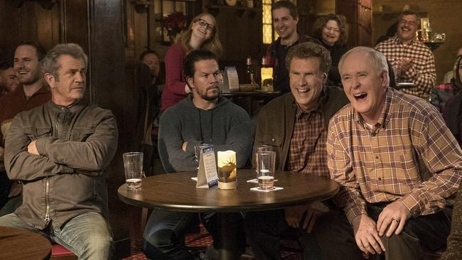 Mel Gibson, Mark Wahlberg, Will Ferrell and John Lithgow.