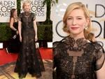 Golden Globes 2014 Red Carpet arrivals at the Beverly Hilton: Cate Blanchett. Picture: Getty