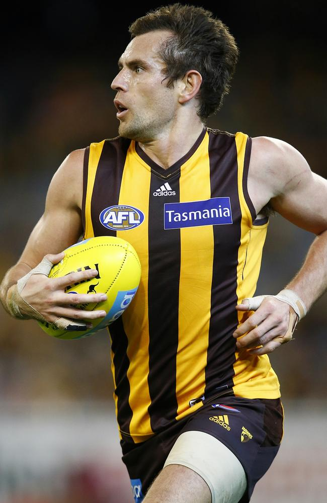 Hawthorn inspiration Luke Hodge. Picture: Michael Klein