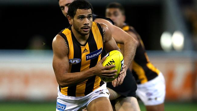 Despite rarely mentioning him during commentary, Cyril Rioli is among Bruce McAvaney's favourites.