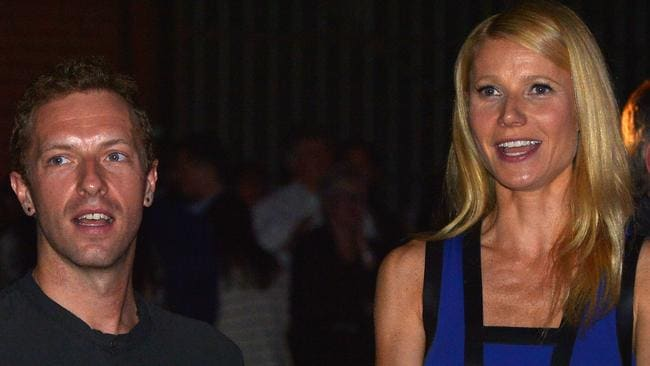 Keeping it together... Chris Martin and Gwyneth Paltrow attend 'Hollywood Stands Up To Cancer' Event in January, just two months before they announced their separation. Picture: Getty