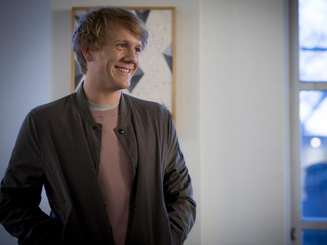 Josh Thomas is delighted the US streaming company Hulu has rescued Please Like Me.