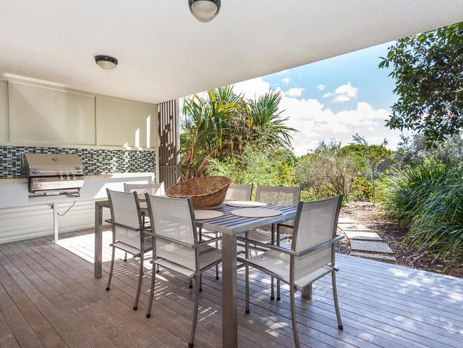Bids have already started online for the apartment, which has views of the Coral Sea. Photo: North South Real Estate
