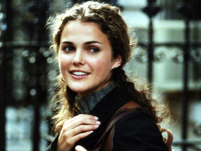 Big break ... Keri Russell is best known for her role in Felicity. Picture: Supplied