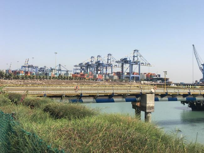 Mundra Port, operated by Adani Group.