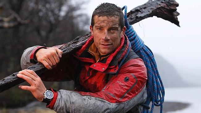 Bear Grylls was accused of misleading viewers of his Channel 4 show, Born Survivor, in 2008. Picture: Supplied
