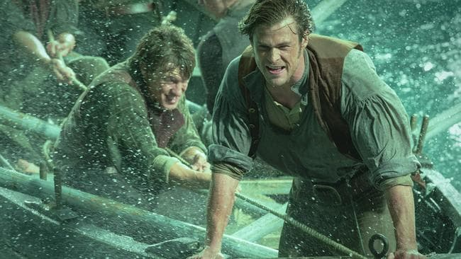 Chris Hemsworth's new tourism role dovetails nicely with his latest star turn in the blockbuster In the Heart of the Sea. Picture: Jonathan Prime/Warner Bros via AP