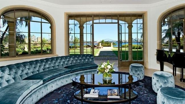Julia Ross has relisted her mega mansion on Wolseley Rd Point Piper for about $40 million.