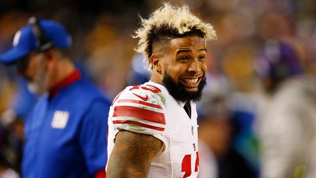 Odell Beckham's 'smile-gate' is the silliest controversy of the NFL season