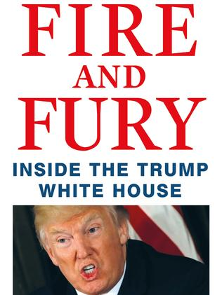 The cover page of the book <i> Fire and Fury</i> by Michael Wolff. AFP PHOTO/Henry Holt and Company