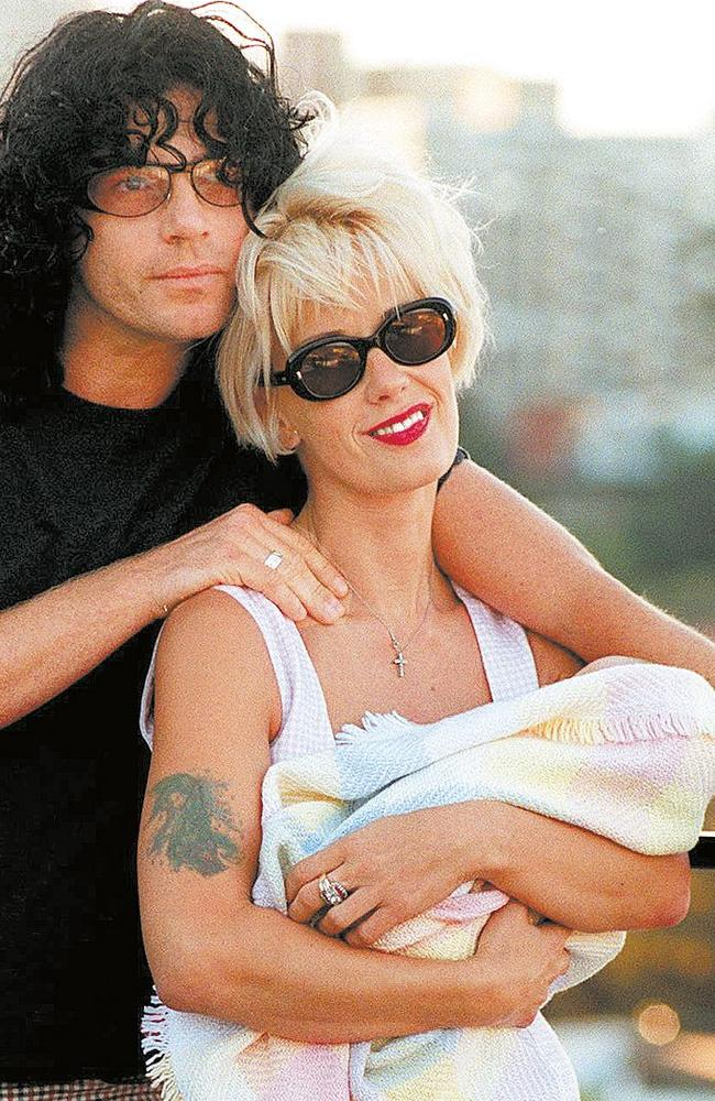 After Michael and Paula both died, Tiger Lily was left an orphan and brought up by Bob Geldof. Picture: Supplied