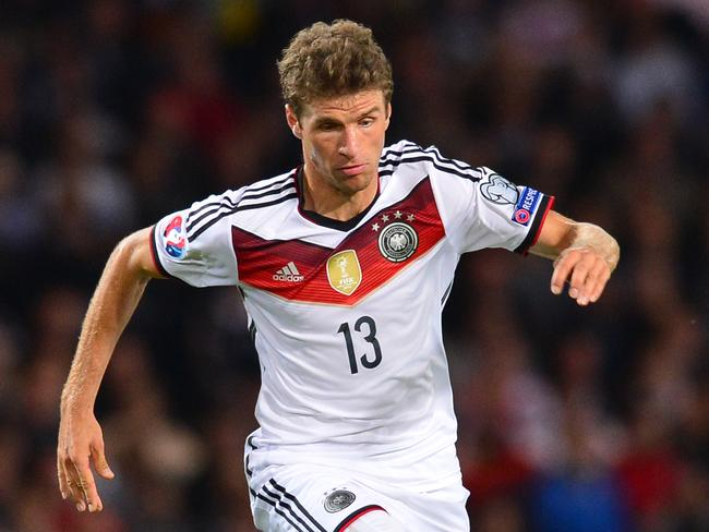 Thomas Muller of Germany.