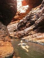 PARKS FOR PEOPLE: Karijini National Park, taken at Handrail Pool. Picture: Jodie Catherall