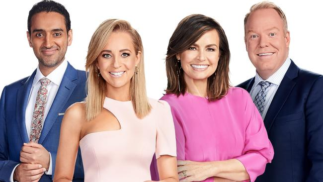 The Project stars: Waleed Aly, Carrie Bickmore, Lisa Wilkinson and Pete Helliar.