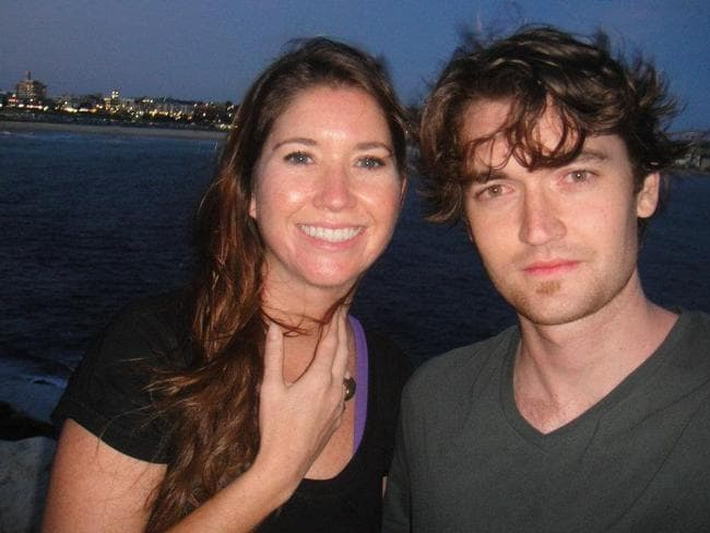 Ross Ulbricht, the accused mastermind of drugs website Silk Road, with his sister in Sydney in late 2011. Photo: Facebook