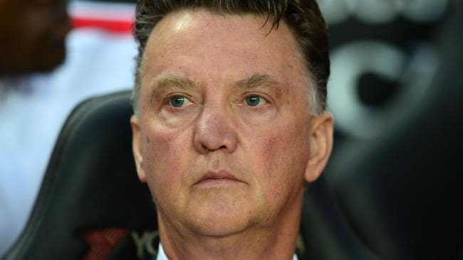 Manchester United's Dutch manager Louis van Gaal says he wasn't shocked by the loss. That's a worry.